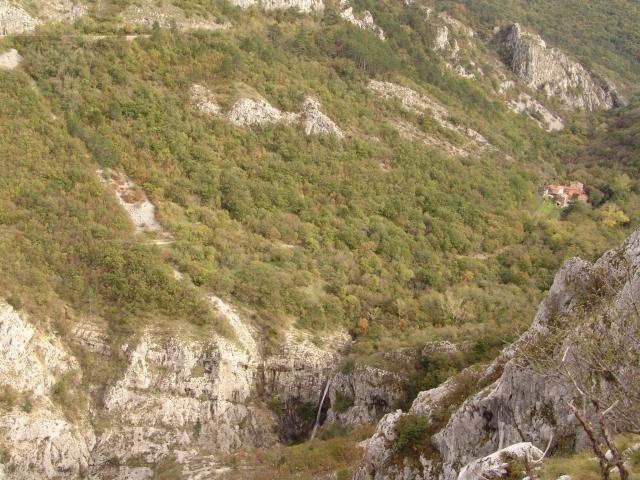Slap Supet in vasica Botač