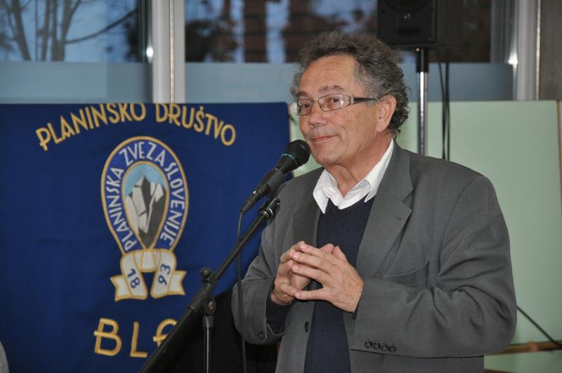 Pozdrav predsednika društva Janeza Petkoša.