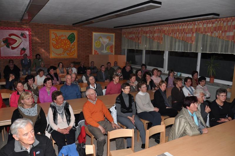 70 članov se je udeležilo zbora društva.