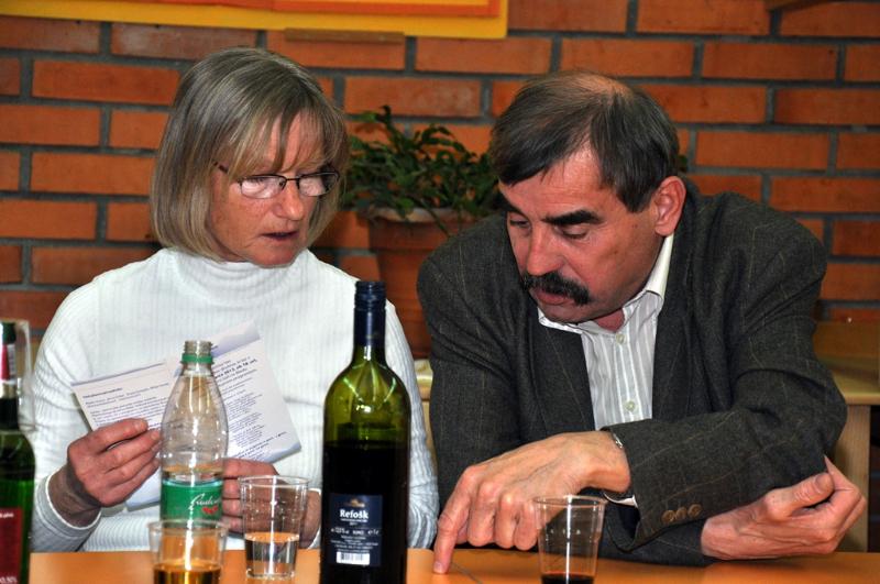 Štefka Pogačar in Marko Jeran