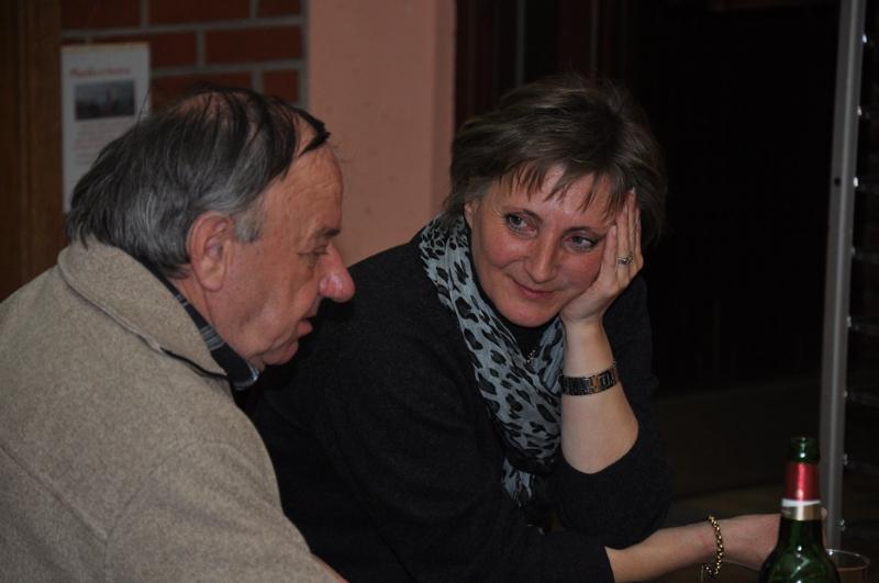 Janez Pečar in Vesna Lukan