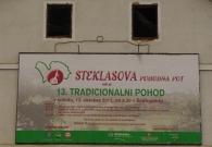 13. tradicionalni pohod po Steklasovi poti